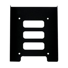 """Wholesale Hdd Mounts - Wholesale- 2.5"""" to 3.5"""" SSD HDD Metal Adapter Mounting Bracket Hard Drive Holder for PC Brand New"""