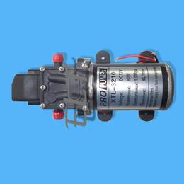 Membranpumpendruck online-Hochdruckauto-Waschmaschinen-Wasserpumpe, DC 12V Wasser-Sprühpumpe, 80W 6L / Minute Auto-Waschpumpe, elektrische Membranpumpe