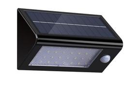 Wholesale Solar Motion Sensor Detector - lederTEK 32 LED 550 Lumens Ultra Bright Outdoor Solar Powered Motion Sensor Detector Lights With Watherproof lights