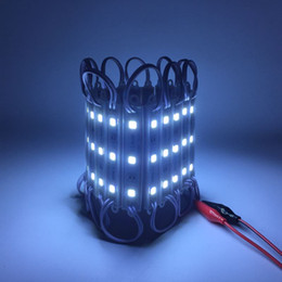 Wholesale H Sign - 1000pcs lot super bright SMD 5054 LED module LED advertising light module for sign DC12V 3led waterproof 75(L)*12(W)*6(H)