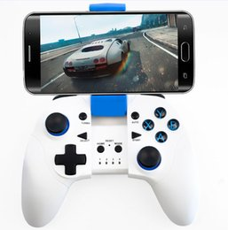 Wholesale Dual Joypad - High Quality Bluetooth Gamepad Wireless Joystick Dual Mode For Iphone or Android Samsung Bluetooth Game Controller Joypad