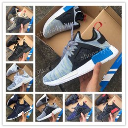 Wholesale Women Snow Boots Size 11 - 2017 NMD XR1 x Mastermind Japan Skull Men's Casual Running Shoes for Top quality Black Red White Boost Fashion Sneakers Size 36-45 US 5-11