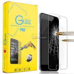 Verre trempé samsung galaxy retail en Ligne-Pour Protecteur d'écran Samsung Galaxy A20 A30 A40 A50 A70 A80 A60 A60 Trempé Verre trempé 0.33mm 9H Qualité Premium avec la boîte de détail