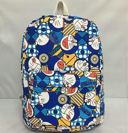 Wholesale Doraemon Backpack - Doraemon backpack Machine cat day pack Magic school bag Parent child rucksack Cartoon schoolbag Outdoor daypack