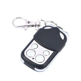 wholesale garage remote Coupons - Wholesale- 1pcs Electric Cloning Universal Gate Garage Door Remote Control Fob 433mhz Key Fob learning garage door copy controller