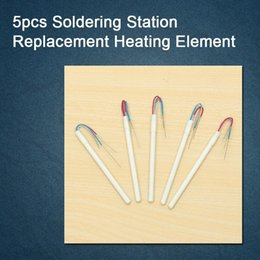Wholesale Solder Ceramic - Hot 5pcs Soldering Iron Station Replacement Heating Element Ceramic Heater 24V 50W A1322 For 900M 900L 907 908 913 914