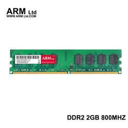 Wholesale Ram Memory Ddr2 Dimm - ARM Ltd 2Gb 800Mhz Memory PC2-6400 SDRAM 240-Pin DIMM DDR2 Desktop PC RAMs Computer Components super-speed RAMs Gifts