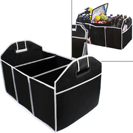 Wholesale cars supplies - Car Trunk Organizer Car Toys Food Storage Container Bags Box Styling Auto Interior Accessories Supplies Gear CEA_306