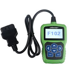 Leitor de código pin automático on-line-OBDSTAR F102 para Nissan / Infiniti Auto programador chave Pin Code Reader Automático com Imobilizador e correção de Odômetro ferramenta