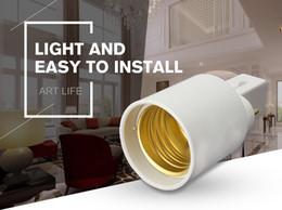 Wholesale G23 Base Led - Excellent Quality G23 To E27 Base Socket CFL LED Halogen Light Bulb Lamp Adapter Holder Converter 110-240V
