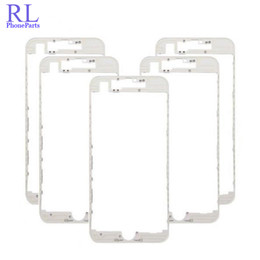 iphone bezel wholesale Promo Codes - DHL 100pcs lot Front Middle Frame Bezel LCD Holder Replacement for iPhone 6 6 plus 6S 6 Plus 7 7 Plus LCD Screen Frame Holder With Glue