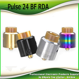 Wholesale Unique Wholesalers - Original Vandyvape Pulse 24 BF RDA Tank 2ml 22mm Diameter Atomizer Tubular Direct Airflow Unique Leak Resistant Vandy Vape 100% Authentic