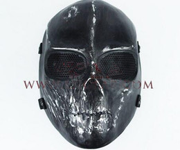 Wholesale Equipment For Army - Skull Mask Army Outdoors Field Equipment Zombie Mask for Airsoft Paintball Resistant Fighting Hero