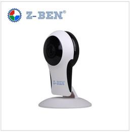 Argentina Z-BEN FULL HD 1080P Wifi Cámara IP panorámica de 180 grados Vista nocturna Mini Wireless Baby Monitor 2.0MP CCTV Cámara inteligente de seguridad P2P cheap security camera viewing Suministro