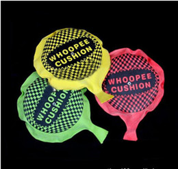Wholesale Toy Prank Set - Wholesale- hot sale1pcs set funny Whoopee Cushion Jokes Gags Pranks Maker Trick Fun Toy Fart Pad Novelty Funny Gadgets Blague Tricky toy