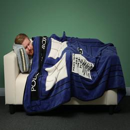 Wholesale Baby Sheets Blankets - Baby Blanket BBC Secret DoctorWho Tardis Blanket Coral Fleece Blanket Soft Sofa Blankets Travel Camping Towels Bed Sheet 127*226CM