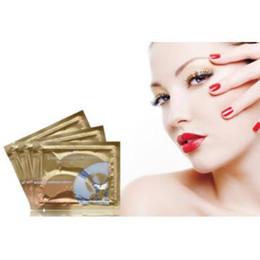 masques pour les yeux en cristal de collagène pilaten Promotion Pilaten Crystal Collagen Eye Mask Anti-puffiness Dark Circle Anti Wrinkle Humidité pour soins des yeux 2pcs / pair CCA6832 2100pair