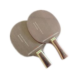 Красные полы онлайн-Wholesale- Floor tennis table tennis blade black and red carbon King 7.6, carbon table tennis racket seven layer of nano carbon