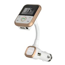 dongle bluetooth smart tv Скидка ЖК-дисплей Беспроводной Bluetooth в автомобиле пульт дистанционного FM-передатчик для Apple Samsung LG смартфонов громкой связи USB зарядки музыка управления