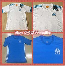 Wholesale Football Shirt Printing - New 17 18 Football Men's Short Sleeve Shirt Thai Quality Print Name No. MACHACH DIABY BEDIMO EVRA RABILLARD High Quality Fast Shipping