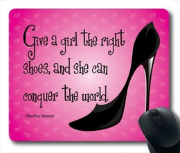Wholesale Marilyn Monroe Quotes - Marilyn Monroe Quote Durable Mouse Pad