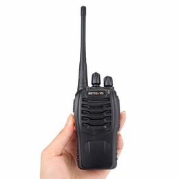 Wholesale Ham Radio Set Two Way - 2pcs Retevis H777 Walkie Talkie 3W UHF 400-470MHz Frequency Portable Radio Set Ham Radio Hf Transceiver Handy Two Way Radio