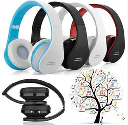 Wholesale Mixes Mp3 - Bluetooth Headset Headphone Bluetooth Earphone Stereo Audio Mp3 Music Headphones Casque For iphone x 7 8 plus Android Smartphone