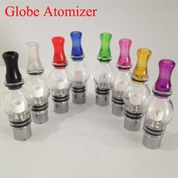 Wholesale Atomizer M6 - M6 Glass Atomizer 4ml Wax Dry Herb Vaporizer Bong Clearomizer Fit eGo Thread Electronic Cigarettes Vape Mods DHL Free