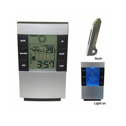 Wholesale Thermometer Temperature Clock - Household All In One Digital LED Thermometer Digital Day Date Alarm Clock Digital Thermometer and Digital Hygrometer