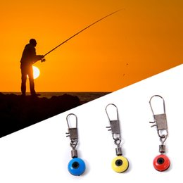 Wholesale Fly Swivel - 20pcs bag Fishing lure Rolling Swivel with Nice Snap stainless steel fishing Hook Connector Link