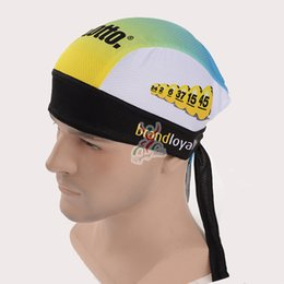 Wholesale Cream Headbands - 2017 team lotto Cycling scarf bandana ciclismo bike mtb bicycle caps headscarf cycling headband quick-dry bicycle hat C0701