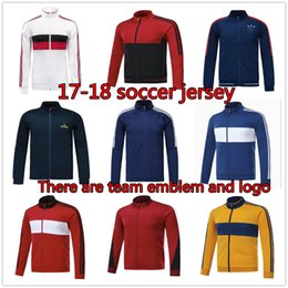 Wholesale Winter Tracksuit Men - top quality 2017 2018 juv training suit kits 17 18 HIGUAIN DYBALA NDZUKIC MARCHISIO GUADRADO training tracksuit free shipping
