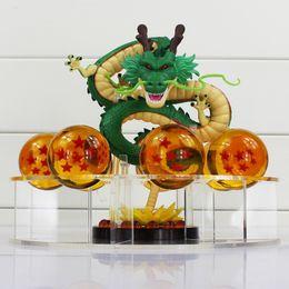 Wholesale Dragonball Figurine - Tobyfancy Dragon Ball Z Action Figures Anime PVC Shenron Shenlong Dragonball Z Figures DBZ Toys Esferas Del Dragon Figurine DBZ