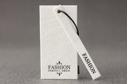 2019 impresión de tarjetas de saludos En stock Envío gratis papel blanco Fashion Foil papel especial negro etiqueta de colgar ropa ropa normal sombrero etiqueta 100 sets / lote