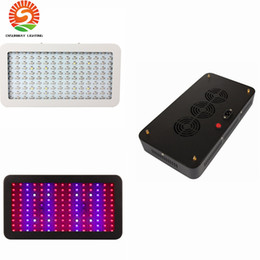 Wholesale Plant Grow Led Panel - Double Chips 120x10watt LED grow light 1200w Grow panel 9 Band Full Spectrum Red Blue White UV IR Led Plant Growing Lighting Lamps