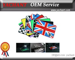 Wholesale Cooper Union - Free Shipping Union Jack Car Rubber Phone Non-slip Mats Mat Skid Pad Fit For Mini Cooper R55 R56 R57 R58 R59