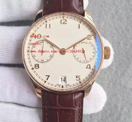 Wholesale Mechanical Pilots Watch - Factory Supplier Luxury AAA Brand Wristwatches IW500701 Automatic Mechanical Mens Watch Watches 42mm brand pilot No Chronograph White Dial