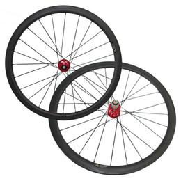 Колесо диска циклокросса онлайн-700C 6 Болт дисковый тормоз ступица 38 мм Clincher углерода дорожный велосипед колеса велокросс колесные диски Cyclocross углерода колеса