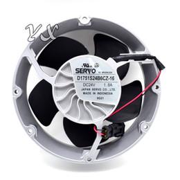 Wholesale Cooling Fan Abb - New and original inverter 24V 1.8A fan D1751S24B6CZ-16 ABB axial cooling fan 172*50mm