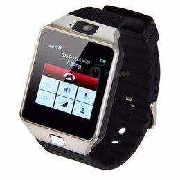 Wholesale Control Exercise - Smart Watch Wearable Push Message GPS Exercise IOS Bluetooth Watch Video Player Android iPhone SIM Kids Intelligent for DZ09