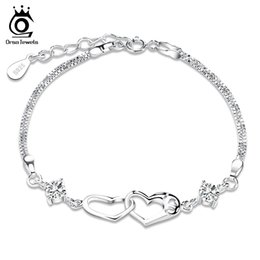 Wholesale 925 Chain Set - Bracelet with Crystal,Genuine Austria Crystal SWA Elements,925 Sterling Silver Material with 3 Layer Platinum Plating OB02
