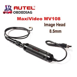 Wholesale Renault Camera - Original Autel MaxiVideo MV108 digital inspection camera work with MaxiSys Pro support video inspection scope MV 108