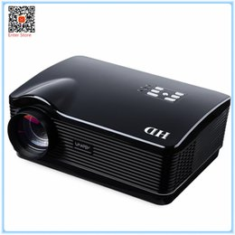 Wholesale h3 projector - Wholesale-Muti-function Cool High Quality 100% Original Design H3 LED LCD Projector 1280 x 768 3000 Lumen Full HD 3D Home Cinema