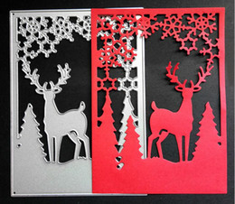 Wholesale Molding Die - Merry Christmas Series 1 Topic Metal Cutting Dies Scrapbook Paper Cards Photo Album DIY Cutting Dies Molding Plate Template