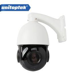 Wholesale Mini Ptz Dome Ip Camera - 4 inch Mini Size 4MP IP PTZ camera Network Onvif Speed Dome 30X Optical Zoom PTZ IP Camera CCTV 50m IR Night Vision Distance