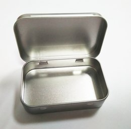 Wholesale Tin Box Printed - Hot Selling Vintage Style Tinplate Shape Storage Tin Box Coin Bag Jewelry Box Lovely Print Storage Box