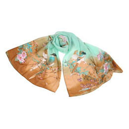 Wholesale Thin Scarf Men - Wholesale- HOT Sale 2017 Scarf Thin Chiffon Silk Scarf Spring and Autumn Accessories Women's Summer Sunscreen Scarves