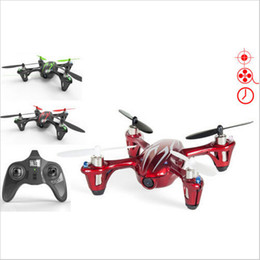 Wholesale Hubsan X4 Rtf - F07858 Hubsan X4 H107C 2.4G 4CH RC Helicopter Quadcopter With Camera RTF+Transmitter+Battery Mini Drones Remote Control Toys