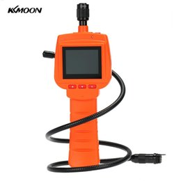 "Wholesale Endoscope Dvr - KKmoon Waterproof Endoscope Inspection Camera 3MP With 2.4"" Screen DVR Video Recorder 9mm Diameter 1 Meters Tube Borescope Zoom"