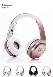 Wholesale Bluetooth Iphone Pairing - New MH3 Wireless Stereo Headphones & Speaker 2 in 1 Bluetooth 4.2 Foldable Headset with NFC Smart Pairing for Android iOS iPhone
